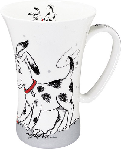 Hector the dog - mega mug