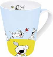Globetrotter - dog - mug