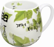 Tea collage - snuggle mug
