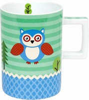Forest animals owl