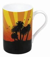 Summer on the beach - mug